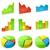 statistiche · icone · colorato · abstract · verde · bar - foto d'archivio © tuulijumala