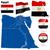 Египет · вектора · набор · подробный · стране · форма - Сток-фото © tuulijumala