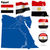Egypte · vector · ingesteld · gedetailleerd · land · vorm - stockfoto © tuulijumala