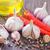 temperos · alho · fresco · salsa · folhas · cerâmico - foto stock © tycoon