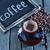 tazza · di · caffè · tela · ruvida · fagioli · rustico - foto d'archivio © tycoon