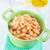 クリーミー · スープ · 緑 · セラミック · 白 · プレート - ストックフォト © tycoon