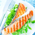 frit · poissons · vert · asperges · salade · délicieux - photo stock © tycoon