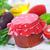 domates · fesleğen · kaşık · otlar · baharatlar · temel - stok fotoğraf © tycoon