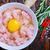 мяса · куриные · чаши · таблице · яйцо · фон - Сток-фото © tycoon