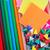 színes · ceruzák · izolált · fehér · felső · kilátás - stock fotó © tycoon