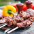 ケバブ · 肉のグリル · 野菜 · 鶏 · 肉 · サラダ - ストックフォト © tycoon