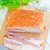 peça · fumado · bacon · branco · prato · gordura - foto stock © tycoon