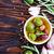 olijfolie · olie · olijven · bladeren · geïsoleerd · witte - stockfoto © tycoon