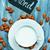 mandula · tej · mandulák · üveg · öreg · fa · asztal - stock fotó © tycoon
