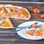 friss · pizza · fa · olasz · sajt · szalámi - stock fotó © tycoon
