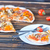 vers · pizza · hout · Italiaans · kaas · salami - stockfoto © tycoon