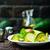 avokádó · saláta · aszalt · méz · mustár · öntet - stock fotó © tycoon