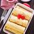 plaat · pannenkoeken · vol · pluizig · gouden · aardbeien - stockfoto © tycoon