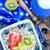 plantilla · comida · vegetariana · frescos · tomates · arroz · romero - foto stock © tycoon
