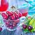 granola · yogurt · frescos · bayas · vidrio · casero - foto stock © tycoon