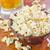caramelo · milho · isolado · preto · comida · filme - foto stock © tycoon
