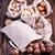 nozes · saco · fruto · cozinha · saco - foto stock © tycoon