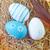 paskalya · yumurtası · mutlu · dizayn · arka · plan · sanat · mavi - stok fotoğraf © tycoon