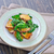 batata · ensalada · nuez · queso · placa - foto stock © tycoon