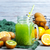 glas · ananas · smoothie · sap · vers · fruit · outdoor - stockfoto © tycoon
