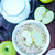 haver · ruw · witte · kom · voedsel - stockfoto © tycoon
