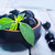 olives · noires · feuille · olive · branche · bol · alimentaire - photo stock © tycoon