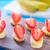 eper · banán · étel · gyümölcs · piros · saláta - stock fotó © tycoon