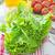 植木屋 · レタス · 緑 · サラダ · 野菜 · 頭 - ストックフォト © tycoon