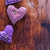 drie · liefde · harten · opknoping · houten · textuur - stockfoto © tycoon
