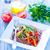 groenten · kom · tabel · voedsel · zomer · diner - stockfoto © tycoon