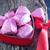 kırmızı · gül · çikolata · şeker · gül · doğa · güzellik - stok fotoğraf © tycoon