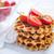 wafel · voedsel · vruchten · achtergrond · groep · Rood - stockfoto © tycoon