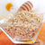 raw oat flaks in the glass bowl stock photo © tycoon
