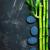 basalto · bambù · verde · nero · tavola · foglia - foto d'archivio © tycoon
