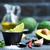 авокадо · соус · чаши · таблице · стекла · зеленый - Сток-фото © tycoon
