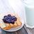 desayuno · frutas · cuadro · azul · tiempo · leche - foto stock © tycoon