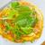 szynka · pomidorów · zielone · Sałatka · żywności · jaj - zdjęcia stock © tycoon