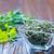 сумку · ромашка · чай · зеленый · цветы · продовольствие - Сток-фото © tycoon