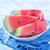 арбуза · ножом · таблице · природы · фрукты · здоровья - Сток-фото © tycoon