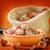 hazelnoten · voedsel · licht · tabel · groep · plaat - stockfoto © tycoon