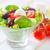 caprese · yaprak · yeşil · akşam · yemeği · kırmızı · yeme - stok fotoğraf © tycoon