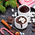 mug · chocolat · chaud · cookies · décoré · alimentaire - photo stock © tycoon