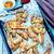 gebakken · aardappel · zout · Spice · metaal · dienblad - stockfoto © tycoon
