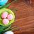 pastel · renkli · yumurta · orkide · kutlamak · Paskalya · kâğıt - stok fotoğraf © tycoon