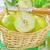 olgun · armut · sepet · gıda · elma · tablo - stok fotoğraf © tycoon