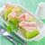 melão · prosciutto · fatias · presunto · raso - foto stock © tycoon