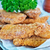 жареный · рыбы · лоток · таблице · фон · ресторан - Сток-фото © tycoon
