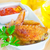 pollo · ali · piccante · salsa · party - foto d'archivio © tycoon