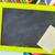 Tablica · żółty · nożyczki · pusty · czarny · ścieżka - zdjęcia stock © tycoon